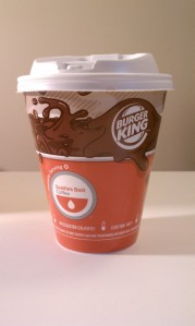 Seattle's Best Coffee at Burger King