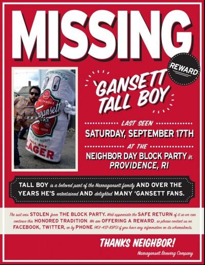 Tallboy Missing