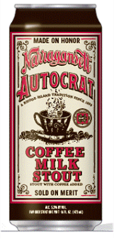 Narragansett Unveils New Autocrat Coffee Milk Stout